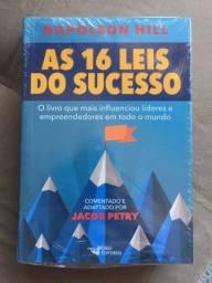 Livro Napoleon Hill / Jacob Petry - As 16 leis do sucesso