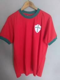Camisa retrô Portuguesa M (1973) - Ganem Sports