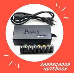 Carregador para notebook universal novos na caixa com garantia