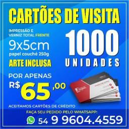 Cartões de Visita Promoção!! Cartões Pastas Folders Panfletos Envelopes