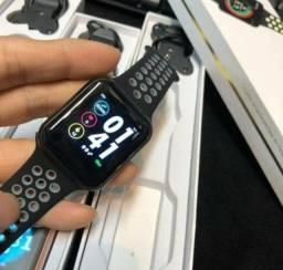 Relogio Inteligente Smartwatch F8 iPhone Android Troca Pulseira Várias Funções - R$ 180,00