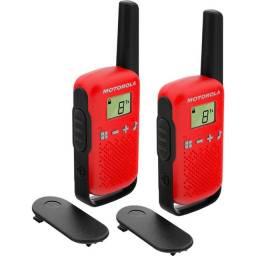 Rádio Comunicador Talkabout 25km T110BR Vermelho