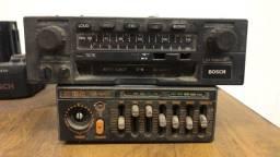 Rádio Bosch Los Angeles II Amplificador Tojo GR - 100 A
