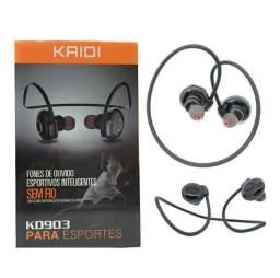 Fone De Ouvido Kaidi Bluetooth Esportivos Inteligentes Kd903<br><br>
