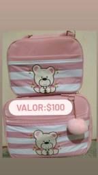 kit de bolsas com duas