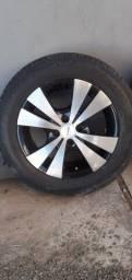 Roda 15 pneus pneus 185 60 vendo ou troco por 17 4.100 wats *