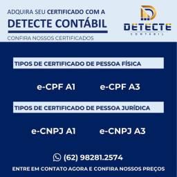 Certificado Digital Pessoa Física e Jurídica
