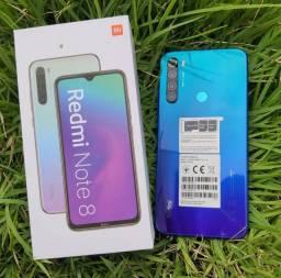 O melhor de 2021! Redmi note 8 da Xiaomi. N*O*V*O lacrado Garantia e entrega