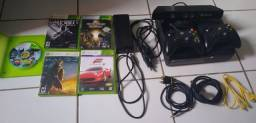 Xbox 360 super slim desbloqueado 2013 valor negociavel