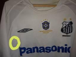 Camisa Antiga Santos Original Tamanho M Patrocínio Panasonic