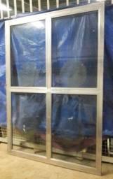 Porta aluminio correr 1,50x2,15 / porta porta porta porta / retirar vila formosa