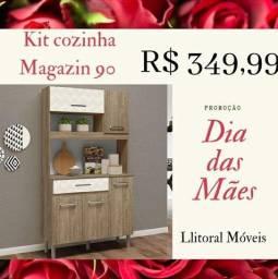 Kit Cozinha Magazin 90 / Frete à consultar