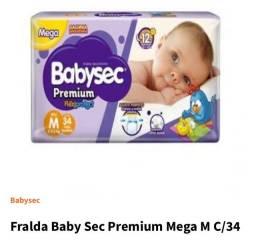 Fraldas Babysec Premium M
