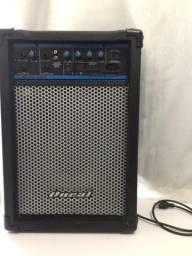 Vende-se caixa amplificadora Oneal Áudio Ocm 208 com cabo P10/P10