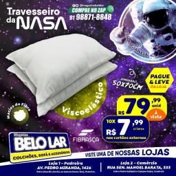 Título do anúncio: Travesseiro da Nasa Fibrasca