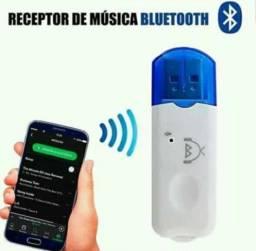 Adaptador usb bluetooth sem fio p/ aparelhos de som e caixa amplificada!