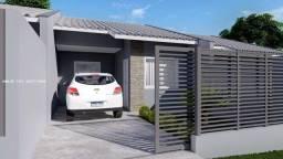 Casa para Venda em Ponta Grossa, Vila Hilgemberg, 2 dormitórios, 1 banheiro, 2 vagas