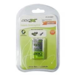 Bateria Recarregável 9v 280mah Flex oferta