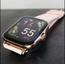 Relógio  Smartwatch  Inteligente P8  Plus - Lançamento -Top Demais