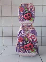 Bolsa escolar joaninha