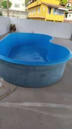 Vendo piscina 2500 litros