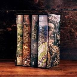 The Hobbit & Lord of The Rings - Edição de Luxo Ilustrada