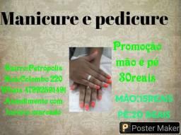 Promoção Mão é pé por apenas 30 reais