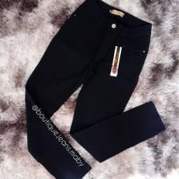 Título do anúncio: Calça jeans preta de lycra