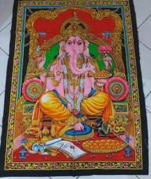 Tecido indiano Ganesha