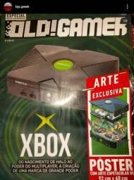 Coleção Old gamer Xbox + poster