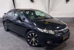 Civic LXS 1.8 automático c/gnv 2012