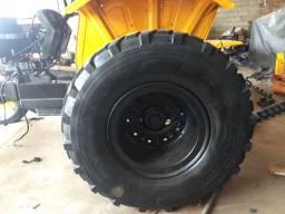 Título do anúncio: pneus militar e roda 15.5 80 R20 , pneus e roda  colheitradeira jd, e pneu  trator 14.9.28