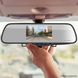 Espelho retrovisor Pioneer com câmera de Ré