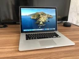 MacBook Pro 2015 Retina, core i7, 16 gb ram 256 SSD. 15 polegadas, analiso trocas