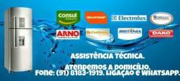 Técnico em Refrigeração ( Concerto e manutenção de geladeiras de todas as marcas )