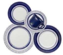 Jogo de pratos novo 20 peças estar 200 reais
