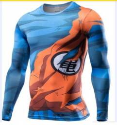 Camiseta dragonboll com proteção UVA