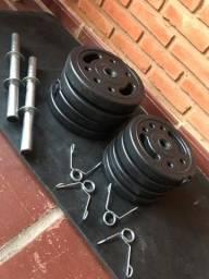 Anilhas Musculação