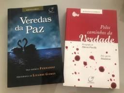 Título do anúncio: Romances Espíritas - 2 Livros