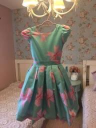 Vestido de festa infantil Via Flora