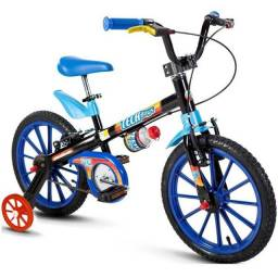 Bicicleta Infantil Aro 16 Tech Boys