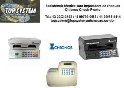 Assistência impressora de cheques check pronto em Santos