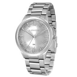 Relógio Lince Feminino Fashion Prateado