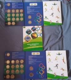 2 Álbum das olimpíadas COM BANDEIRA.