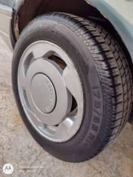 Troco rodas 14 por 17 Orbital