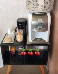 Móvel para gelagua ou cantinho do café 65x65 estilo retrô sob encomenda