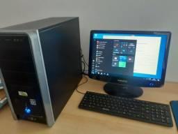 COMUTADOR COMPLETO AMD 3000+ 2GB + HD320  + TELA 17 POLEGADAS