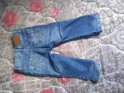 Calça jeans menina tamanho 1