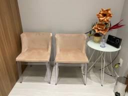 Cadeiras poltrona recepção ou sala