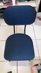 Cadeira fixa escritório ou home office 40,00